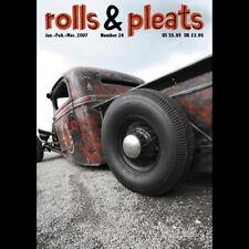 Rolls And Pleats Magazine #24 Traditional Hot Rod Rat Kustom Flathead NOS