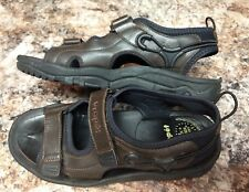 PROPET M0002 Mens SURF WALKER Brown Sandals 10 Velcro/Bungee