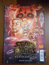 STAR RATS EPISODIO I NUOVA EDIZIONE RAT-MAN PANINI COMICS - fumetto d'autore