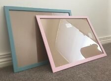 USE BLU TACK 1 x SUPER LIGHT BABY PINK OR BLUE A4 Photo Picture TIMBER FRAME