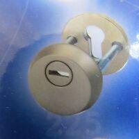 MUL T LOCK CYLINDER DOOR LOCK PROTECTOR - FOR EURO PROFILE - DOOR LOCK NICKEL