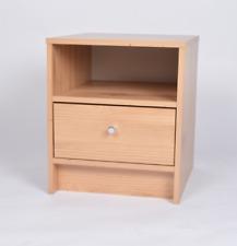 Madison 1 Drawer Single Bedside Pine Effect