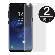 2X Clear Full Cover Tempered Glass Screen Protector for Samsung Galaxy S8 G950