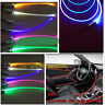 1.5W DC 12V car home PMMA side glow fiber optic light source illuminator 3-10mm