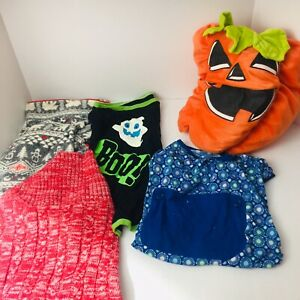 Lot of Large Dog Size Medium Clothes - Assorted - Costumes Sweater Fleece