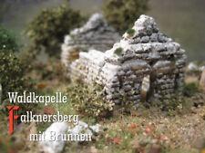 Waldkapelle Falknersberg mit Brunnen, Spur  Spur N / Z Modelleisenbahn menbrf003