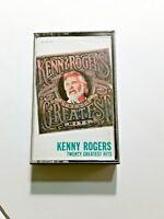 Kenny Rogers Twenty Greatest Hits Cassette 1983