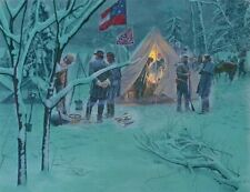 Strategy in the Snow - Mort Kunstler - Limited Edition Art Print