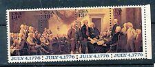 TIMBRE USA ETATS-UNIS UNITED STATES POSTAGE JULY 4-1776 1136-39 XX