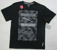 Men's Reebok Crossfit Devision Shirt, New Blk Gray Be More Fitness Sport Shirt M