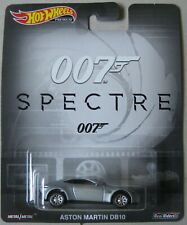Hot Wheels Premium 007 Spectre ASTON MARTIN DB10 with REAL RIDERS silver
