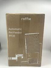 New listing Roffie Automatic Pet Feeder Pf30 Programmable Timer 6.5lbs Capacity Hopper
