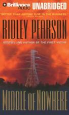 Boldt / Matthews Middle of Nowhere Ridley Pearson CD AUDIOBOOK UNABRIDGED