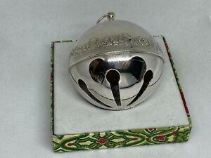 1980 Wallace Sleigh Bell Ornament w/Box