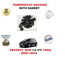 pour Peugeot 3008 1.6 VTi 120hp 2009>2016 thermostat Boîtier complet avec joint