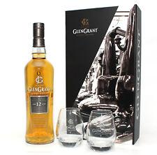 GESCHENKSET Glen Grant 12 Jahre + 2 Gläser - Speyside Single Malt Whisky