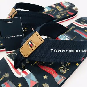 Tommy Hilfiger Flip Flops Size 9 New With Tags