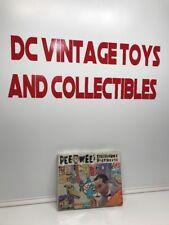 Vintage 1980's Pee-Wee Herman New Colorforms Deluxe Playset  Sealed