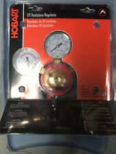 HOBART 770504  LP/Acetylene Regulator DUAL PSI/KPA SCALES ~ FREE SHIPPING
