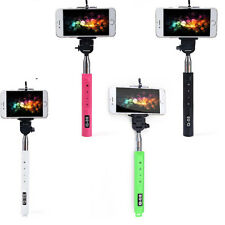Bluetooth Extendable Handheld Selfie Stick Monopod With Zoom Samsung iPhone BLAK