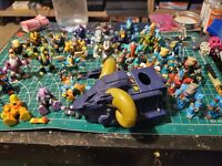 Battle Beasts Big Lot Of 25 Figures + Vehicle and Extras. See Pics!