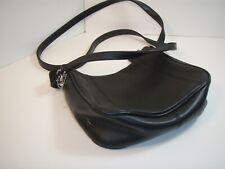Worthington Genuine Leather Hand/Shoulder Bag Purse Color Black
