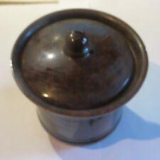 Filtre à café en céramique brune – petit éclat au bord