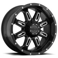"""Gear 725MB Dominator 18x9 6x135/6x5.5"""" -12mm Black/Machined Wheel Rim 18"""" Inch"""