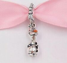NEW Authentic Genuine Silver Pandora Disney Frozen 2 Olaf Charm Dangle S925 ALE