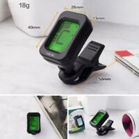 Chromatic Clip-On Guitar Tuner for Acoustic Guitar Bass Violin Ukulele New