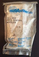 """New Miller Fluid Power 3/8"""" Speed Control Muffler Model No. 331-903"""