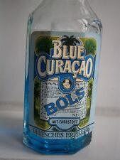 BOLS Blue Curacao 30 Jahre alt years old Miniatur Mini Vintage Mignon