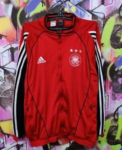 Germany Soccer National Team Football Longsleeve Jacket Top Adidas 2005 Mens M/L
