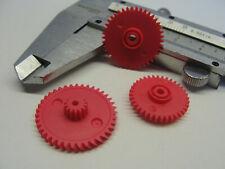 + Zahnräder für PHILIPS D7160 D6550 D6350 GRUNDIG CR100 Ein Satz von 3. Stück +