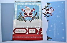 Kanban Santa & Friends Christmas Die Cut Foiled Toppers,Card,Insert Kit 54422