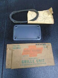 NOS N.O.S. GM ACCESSORY 1959 60 IMPALA STATION WAGON REAR SPEAKER GRILLE 987955