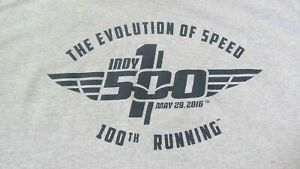 100th RUNNING OF THE INDIANAPOLIS 500 T-SHIRT!!!