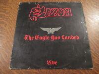 33 tours saxon live the eagle has landed