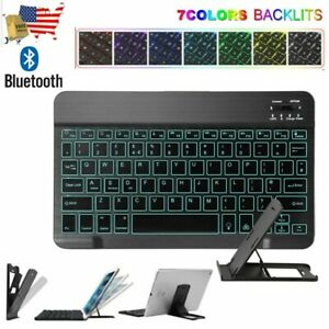 Universal Wireless Bluetooth Backlit Keyboard For Mac Android Windows Tablet
