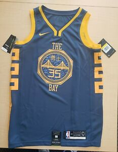 NIKE NBA KEVIN DURANT GOLDEN STATE WARRIORS SWINGMAN JERSEY AJ4610 430 Size 40 S