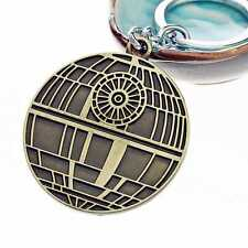 Star Wars Bai Bing Black Samurai Key Ring Bronze Metal Keychain Gift