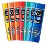 Pentel AIN Stein Mechanical Pencil Refil Leads 0.3 0.5 0.7 0.9 4B 3B 2B B HB H 2