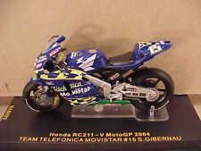 1/24 Diecast IXO Honda RC211 '04 Moto GP, #15, Gibernau