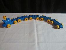 Lego Duplo Train Engine Cars Vehicle Building Lot Set - Blue