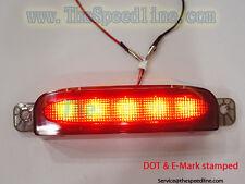 05 06 07 08 Mazda3 4D Sedan SMOKE 3rd LED brake light E9 DOT APPROVAL THIRD STOP