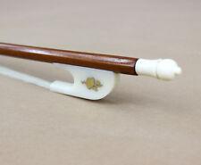 Baroque style Pernambuco violin bow lacte frog especial nut size 4/4