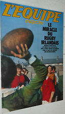 EQUIPE MAGAZINE N°53 1981 RUGBY EIRE IRLANDE DUBLIN FOOTBALL SPONSORS