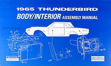 repair manuals literature for 1965 ford thunderbird ebay rh ebay com 1964 Ford Thunderbird 1966 Ford Thunderbird