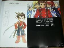 Tales of The symphonia Art Book RARE character Work