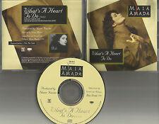 MAIA AMADA What's A heart to do 1993 PROMO Radio DJ CD single USA